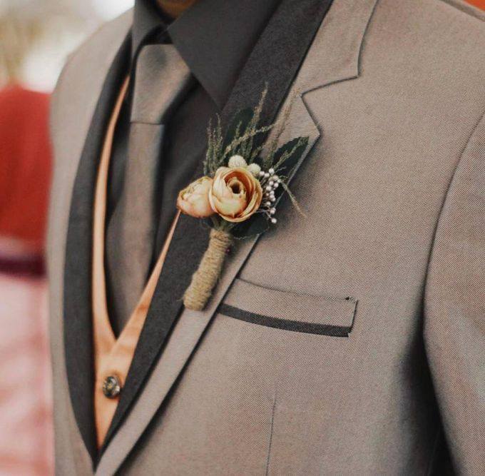 Boutonniere & Corsage by Rose For You - 039