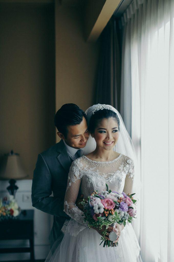 Tomas & Asti Jakarta Wedding by Ian Vins - 020