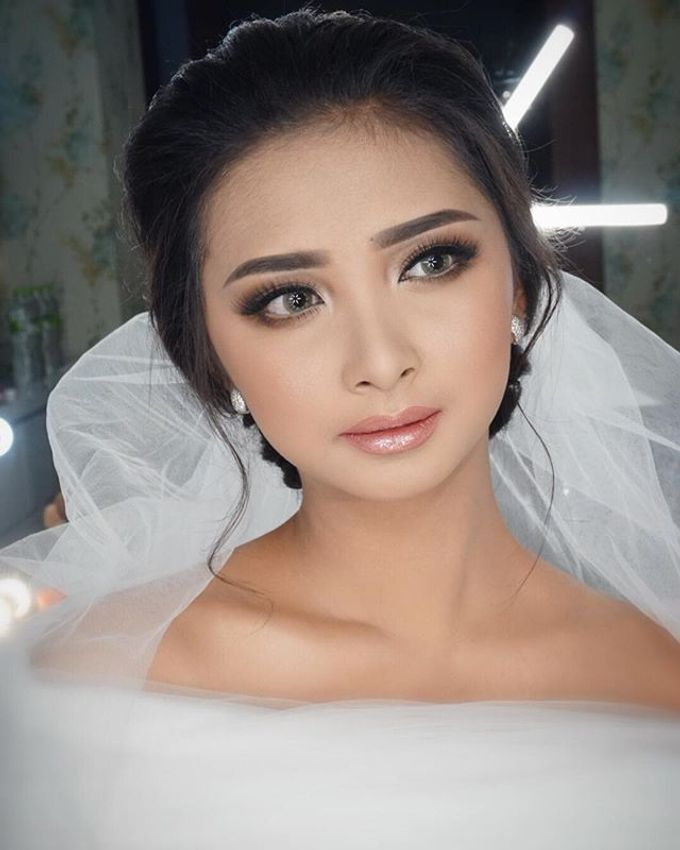 Wedding Make Up  by shabrinamakeup - 012