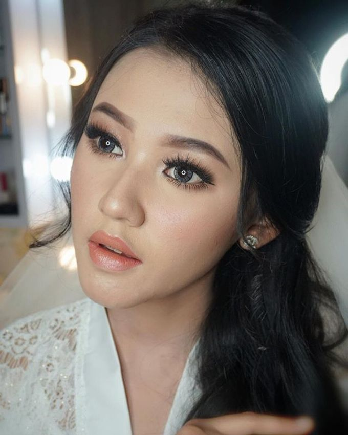Wedding Make Up  by shabrinamakeup - 018