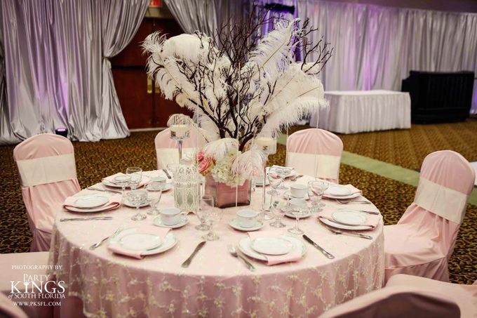 Sample Table Centerpiece Set up by Ocean Sky Hotel & Resort - 005