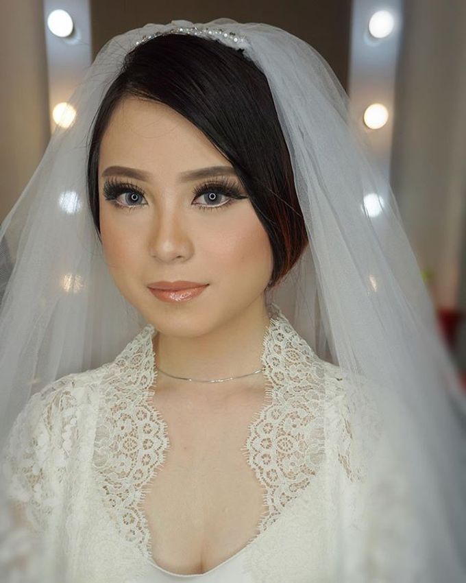 Wedding Make Up  by shabrinamakeup - 019