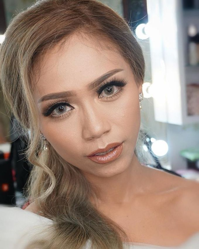 Wedding Make Up  by shabrinamakeup - 009