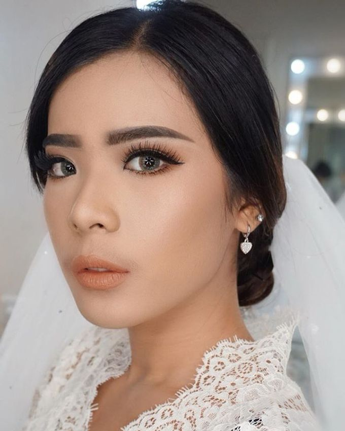 Wedding Make Up  by shabrinamakeup - 006