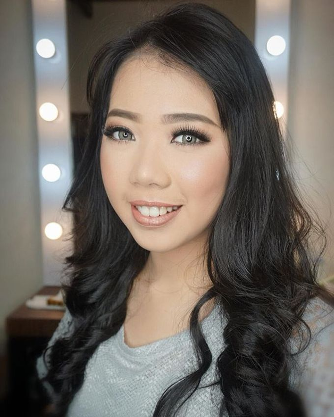 Wedding Make Up  by shabrinamakeup - 014