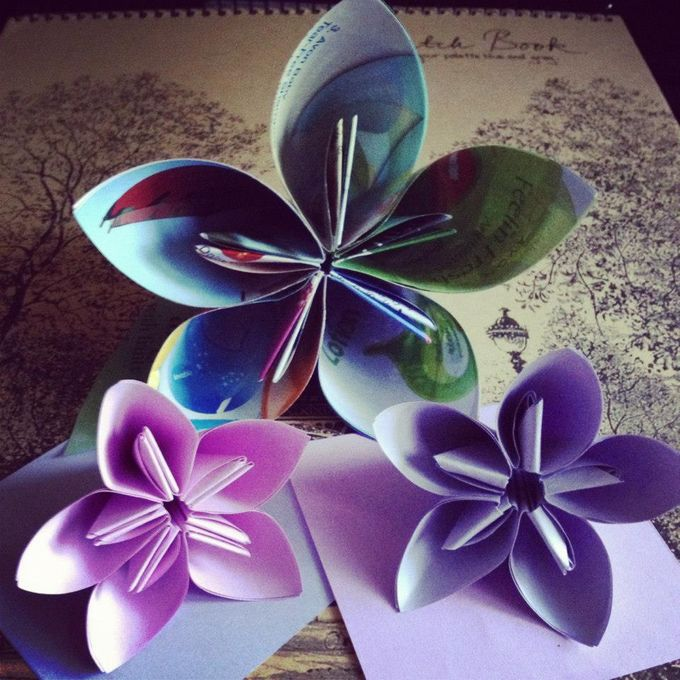 Paper Flowers by Passionately Handmade - 001