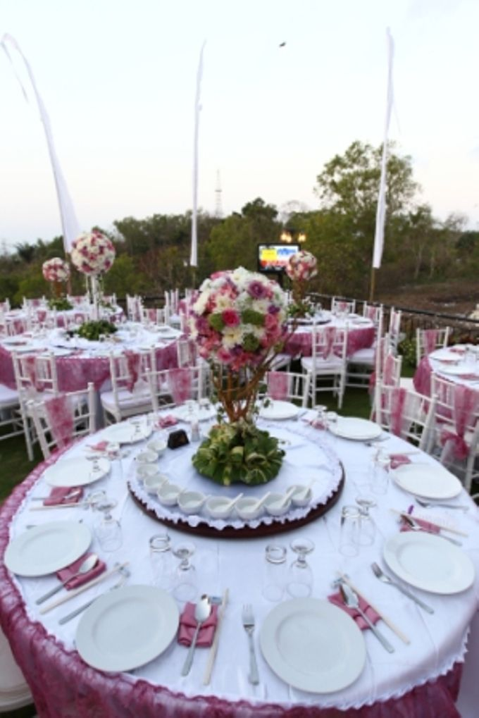 Wedding of Christian Adiwena and Rufina Tam by Flamingo Dewata Chapel and Villas - 008