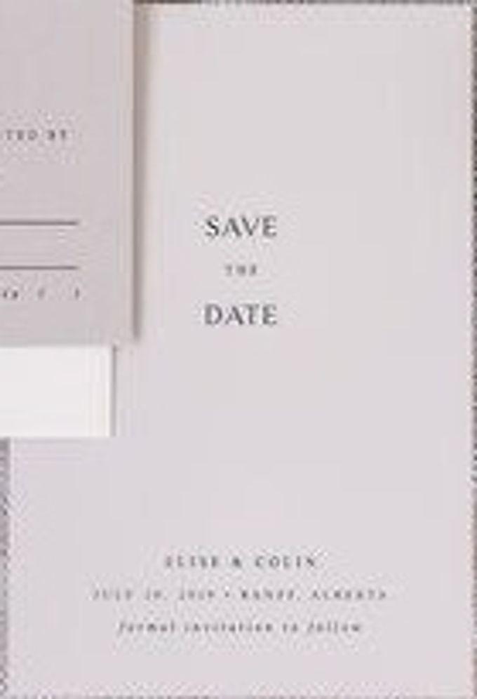 ELICE & COLIN (Neat Light Grey Luxury) by Sanggar Undangan - 005