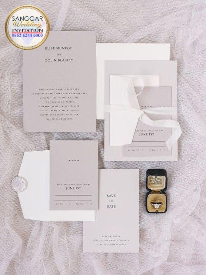 ELICE & COLIN (Neat Light Grey Luxury) by Sanggar Undangan - 006