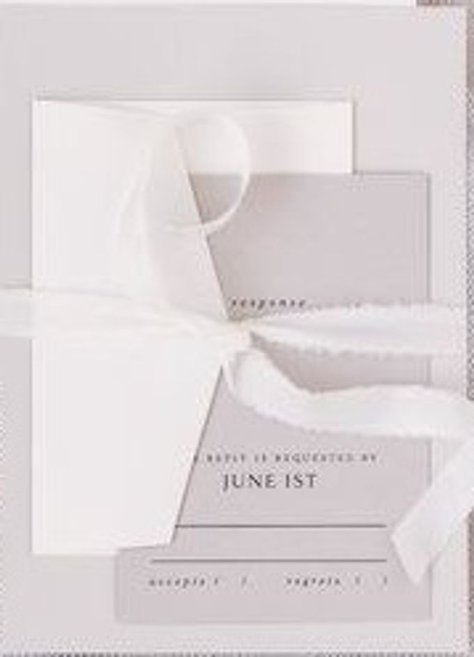 ELICE & COLIN (Neat Light Grey Luxury) by Sanggar Undangan - 004