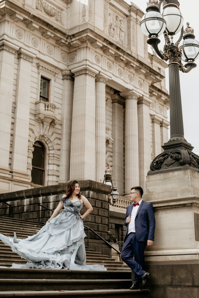Melbourne | Prewedding Jeffri & Jessica by Monchichi - 011
