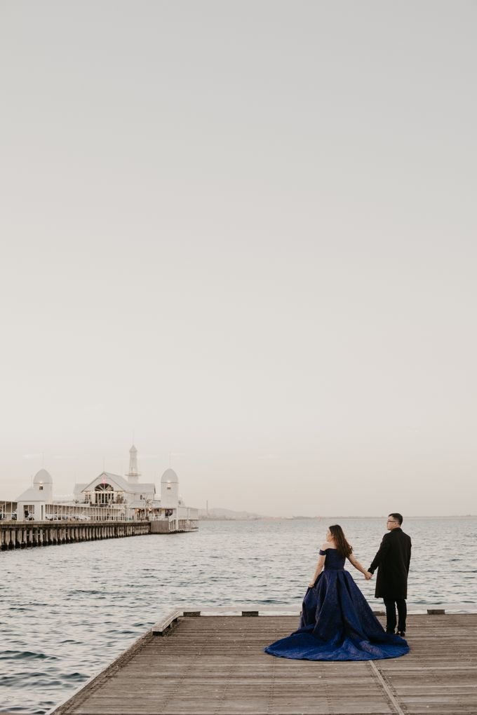 Melbourne | Prewedding Jeffri & Jessica by Monchichi - 019