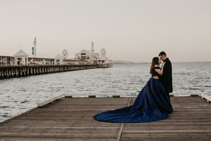 Melbourne | Prewedding Jeffri & Jessica by Monchichi - 020