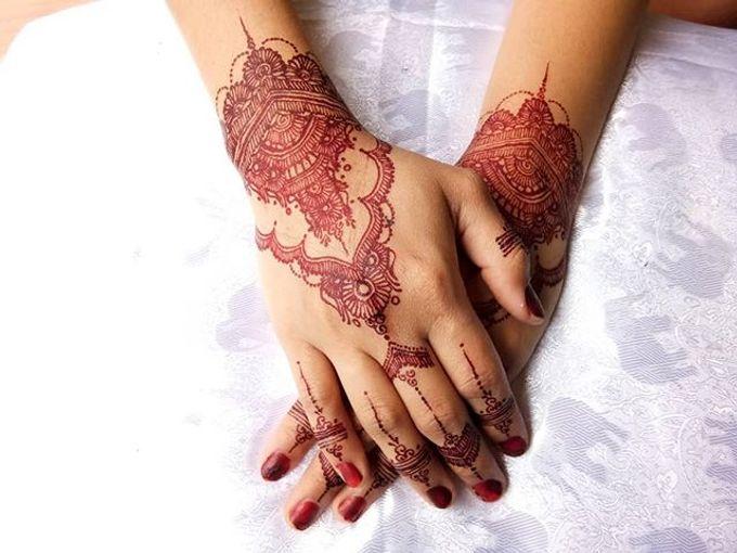 Henna Wedding Devidelika Hennaart Bridestory