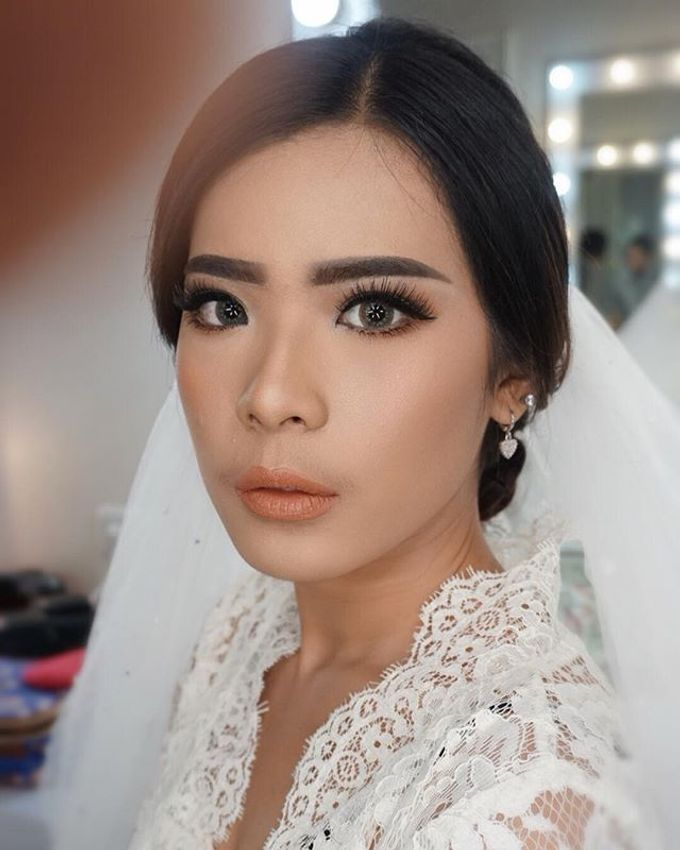 Wedding Make Up  by shabrinamakeup - 004