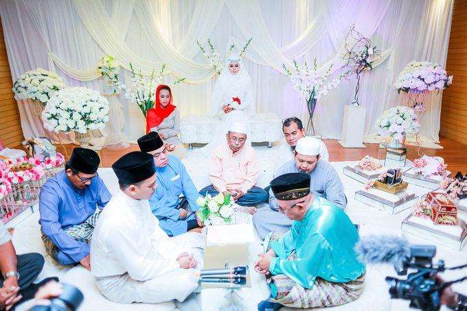 Zuhairah & Fuad by The Rafflesia Wedding & Portraiture - 030