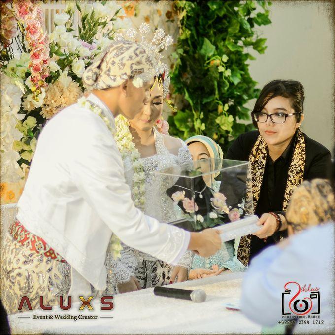 The Wedding of Santa & Khresna by Alux's Event & Wedding Creator - 016