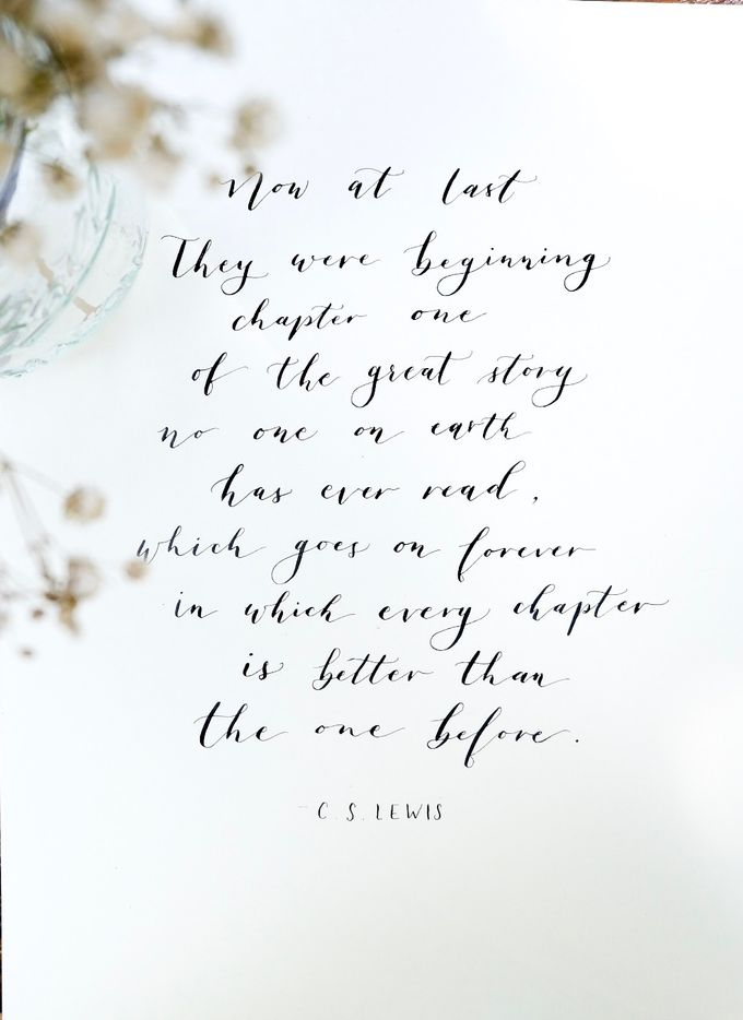 Calligraphy by Atelier Plum - 007
