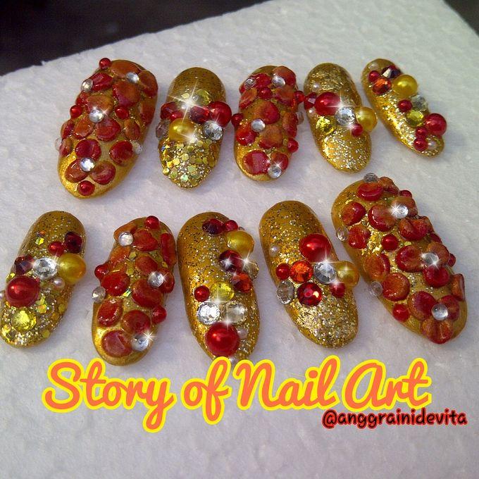 Fake Nails by Story of Nailart - 017
