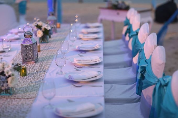 Intimate Dinner on the Beach by Courtyard by Marriott Bali Nusa Dua - 004