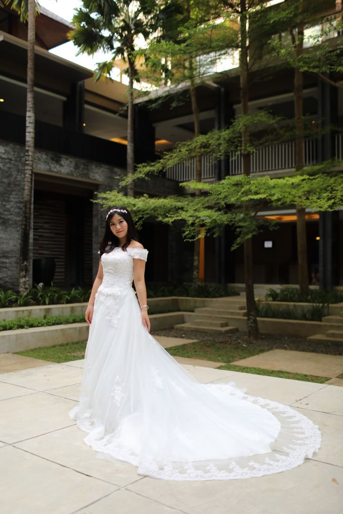 Wedding of Lin Kunkun and Yang Yiqiu by Courtyard by Marriott Bali Nusa Dua - 031