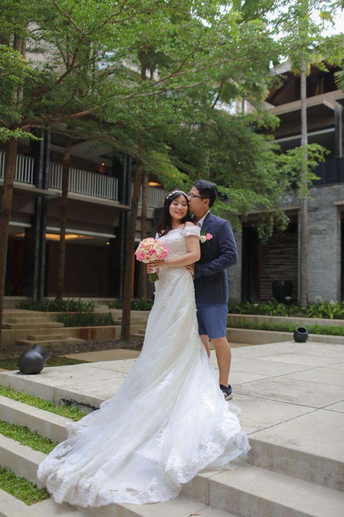 Wedding of Lin Kunkun and Yang Yiqiu by Courtyard by Marriott Bali Nusa Dua - 034