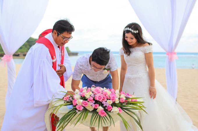 Wedding of Lin Kunkun and Yang Yiqiu by Courtyard by Marriott Bali Nusa Dua - 035