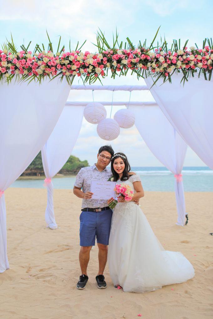 Wedding of Lin Kunkun and Yang Yiqiu by Courtyard by Marriott Bali Nusa Dua - 037