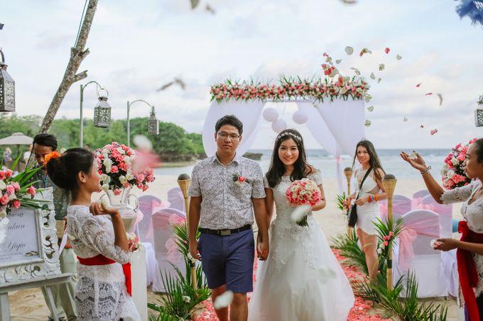 Wedding of Lin Kunkun and Yang Yiqiu by Courtyard by Marriott Bali Nusa Dua - 038