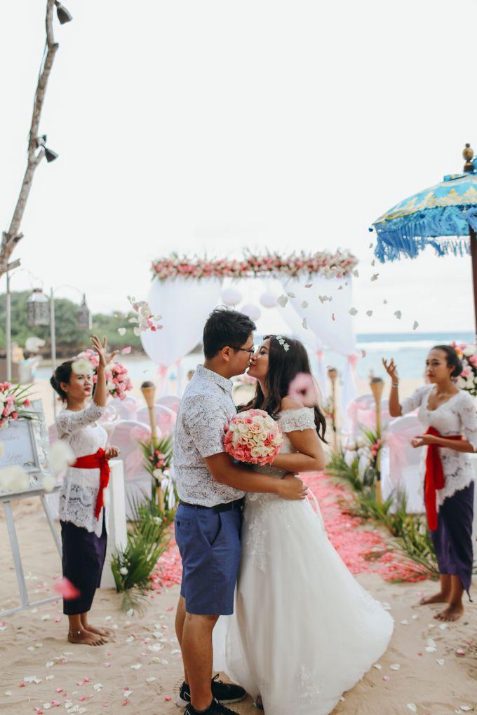 Wedding of Lin Kunkun and Yang Yiqiu by Courtyard by Marriott Bali Nusa Dua - 036