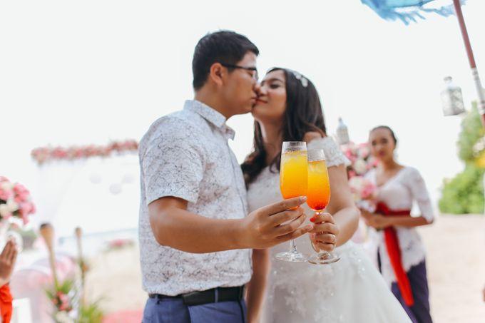 Wedding of Lin Kunkun and Yang Yiqiu by Courtyard by Marriott Bali Nusa Dua - 003
