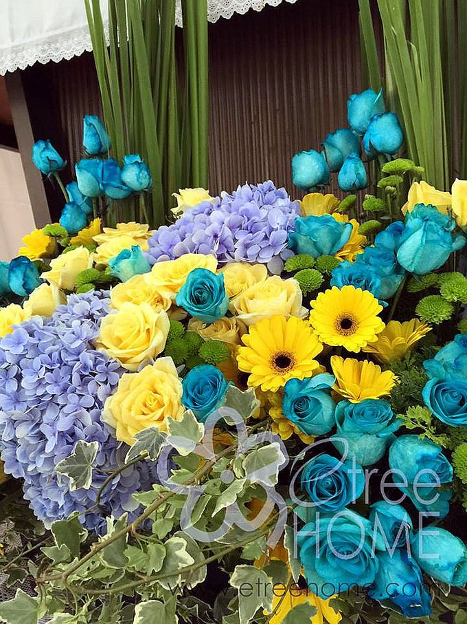 Blue Yellow Wedding by etreehome - 003
