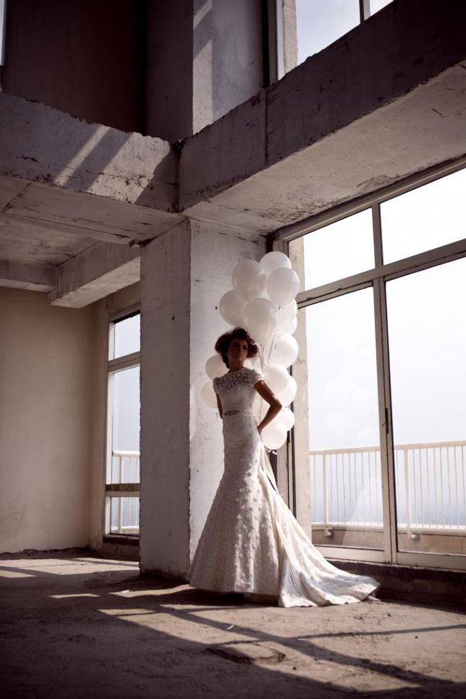 Pretty in White by Priyo Oktaviano - 003