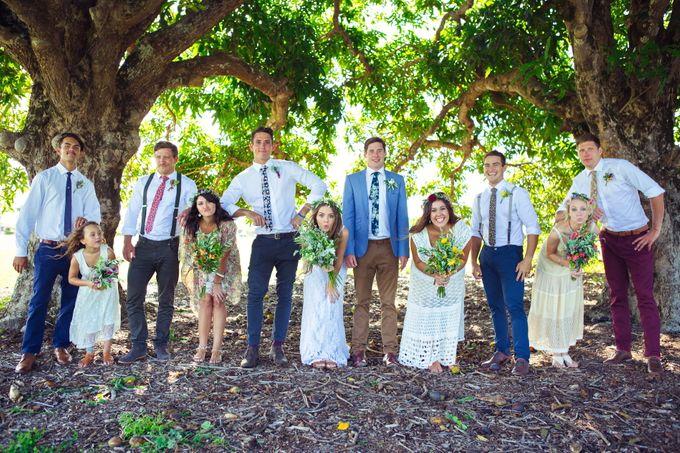 Paige & Pauls Boho Wedding by Dream Bella Photography - 003