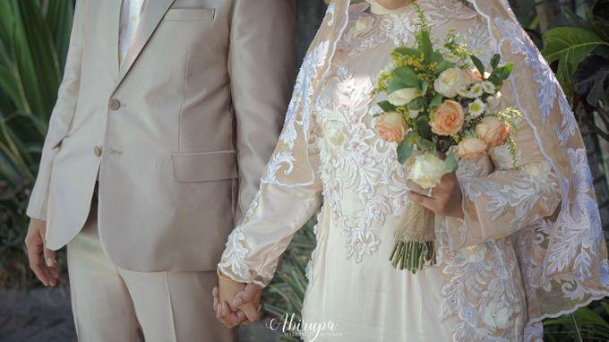 Poolside Wedding Party of Elvira & Irfan by Abirupa Wedding Planner - 016