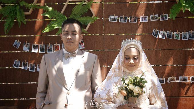 Poolside Wedding Party of Elvira & Irfan by Abirupa Wedding Planner - 017