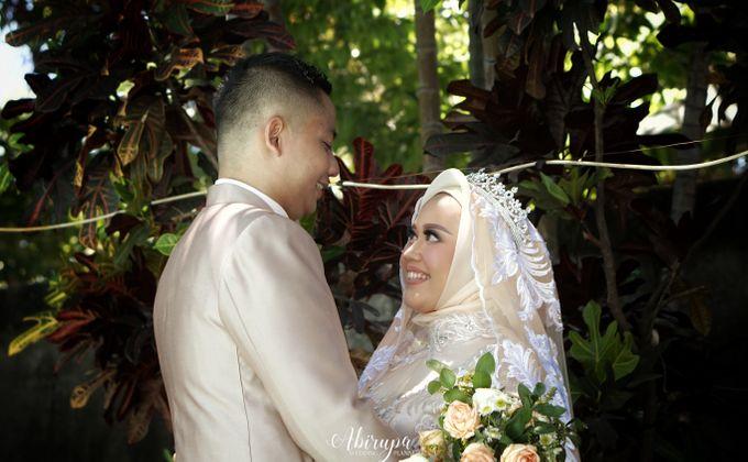 Poolside Wedding Party of Elvira & Irfan by Abirupa Wedding Planner - 018