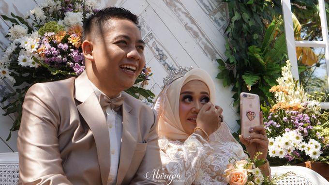 Poolside Wedding Party of Elvira & Irfan by Abirupa Wedding Planner - 024