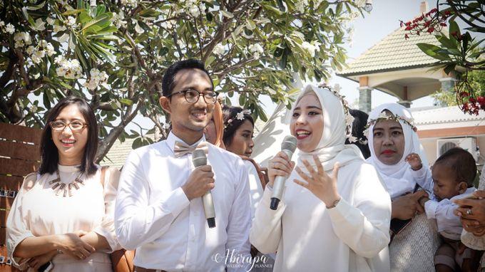 Poolside Wedding Party of Elvira & Irfan by Abirupa Wedding Planner - 025