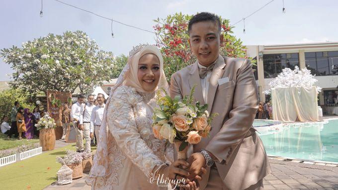 Poolside Wedding Party of Elvira & Irfan by Abirupa Wedding Planner - 028