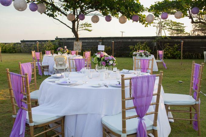 Purple wedding by Bali Angels - 024