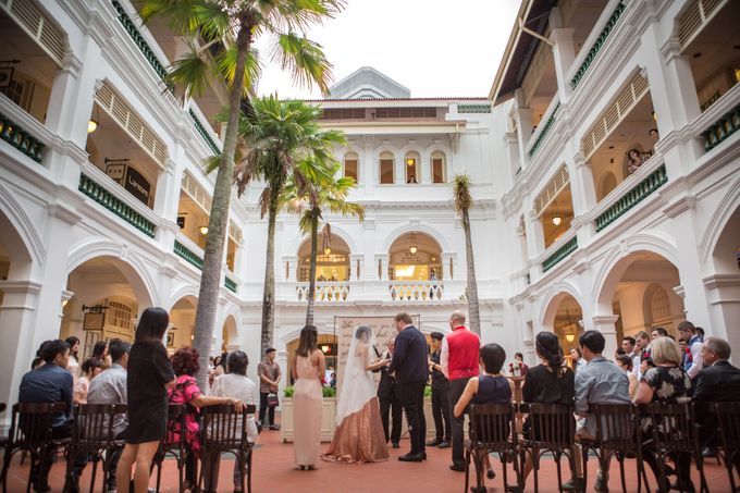 Wedding of Atli & Joey @ Halia at Raffles Hotel by The Halia - 003