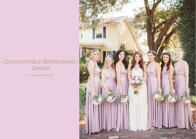 Convertible Bridesmaid Dress by The White Gallery - 001