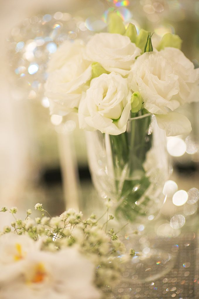 Classic White Wedding by Spring Cottage - 003