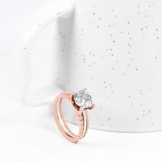 Diamond Wedding Ring by VIN Jewellery by V&Co Jewellery - 003