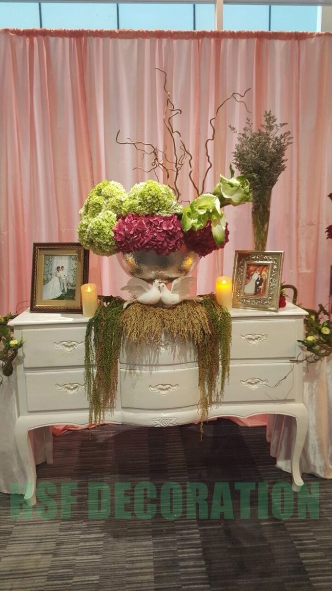 Wedding Decoration by Home Smile Florist - 003