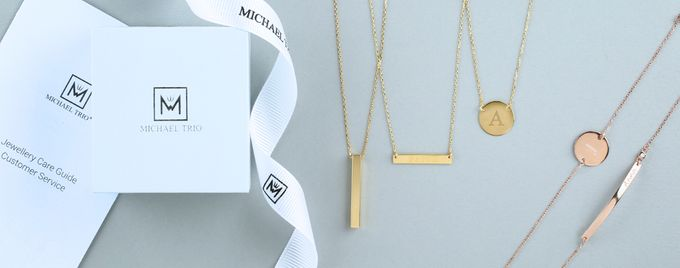 Love Imprint Engraveable Jewellery by Michael Trio - 014