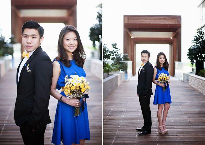 Sunshine outdoor wedding by SS Florist - 003
