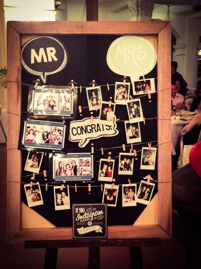 Wedding of Ian & Kelly @ Halia at Raffles Hotel by The Halia - 003