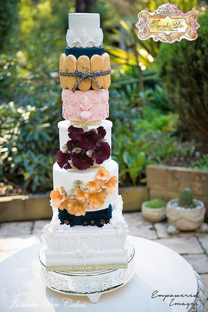 Wedding Cakes by Innicka Dee Cakes - 003